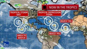 WESTERN EUROPE: Tropics Could Become Significant Player In September