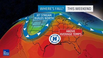 WEEKEND: FINALLY A TASTE OF FALL FOR NORTHEAST, SNOW FOR ROCKIES