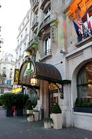 Holiday Inn Paris Bastille, next to a sex shop...