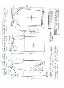 Esquema de modelagem de jaqueta bomber, college, americana ou varsity tamanho GG.