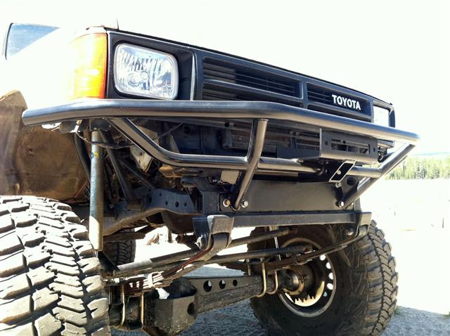 Front Bumper Installation Pictures Marlin Crawler Inc