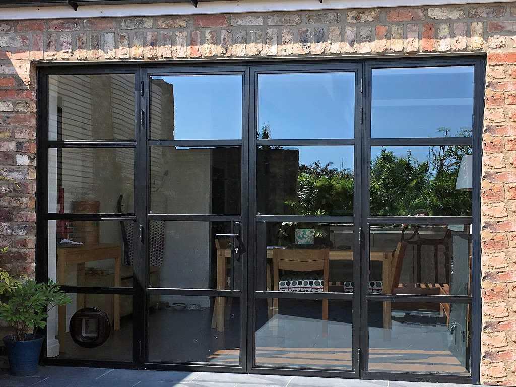 Steel Replacement Aluminium Doors York Marlin Windows