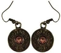 ERY140621-04G Gold 12 Gauge Earrings