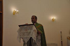 مراسيم سهرة وقداس عيد الدنح في كنيسة مارنرساي/دهوك