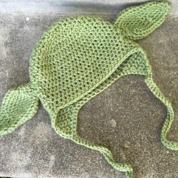 Free Crochet Pattern For Baby Yoda Hat : Baby Yoda Hat Crochet Pattern ? marni made it