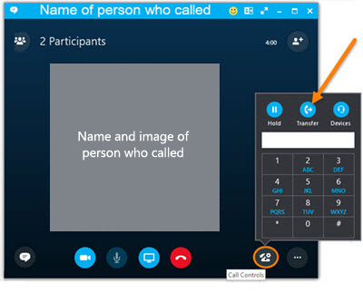 Transfer Calls with Skype for Business IT Services Marquette