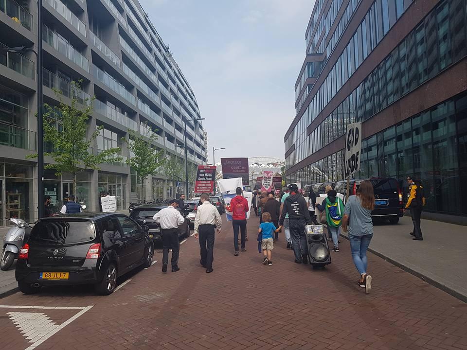 Mars voor Jezus Rotterdam