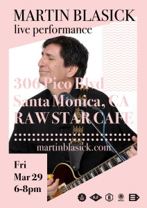 Martin Blasick Live At Raw Star Cafe