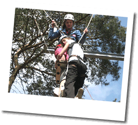 High Ropes activities with Martin Digby Outdoor Activities, Shropshire