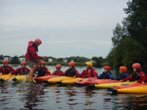 Running round the raft
