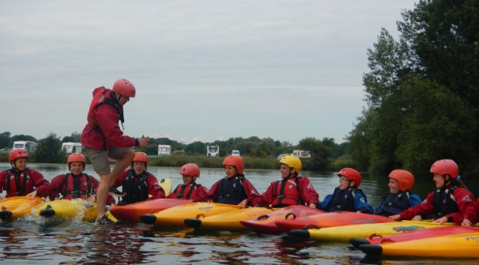 Kayak Sessions with Cadets