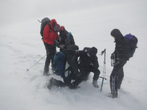 Struggling to interpret the map in difficult conditions