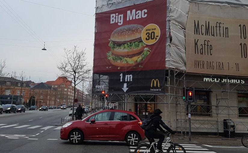 Indrømmelse: Jeg har lyst til BigMac…og så fra morgenstunden!