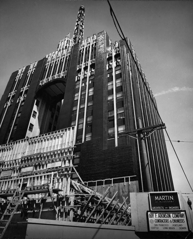 Richfield Building 1954