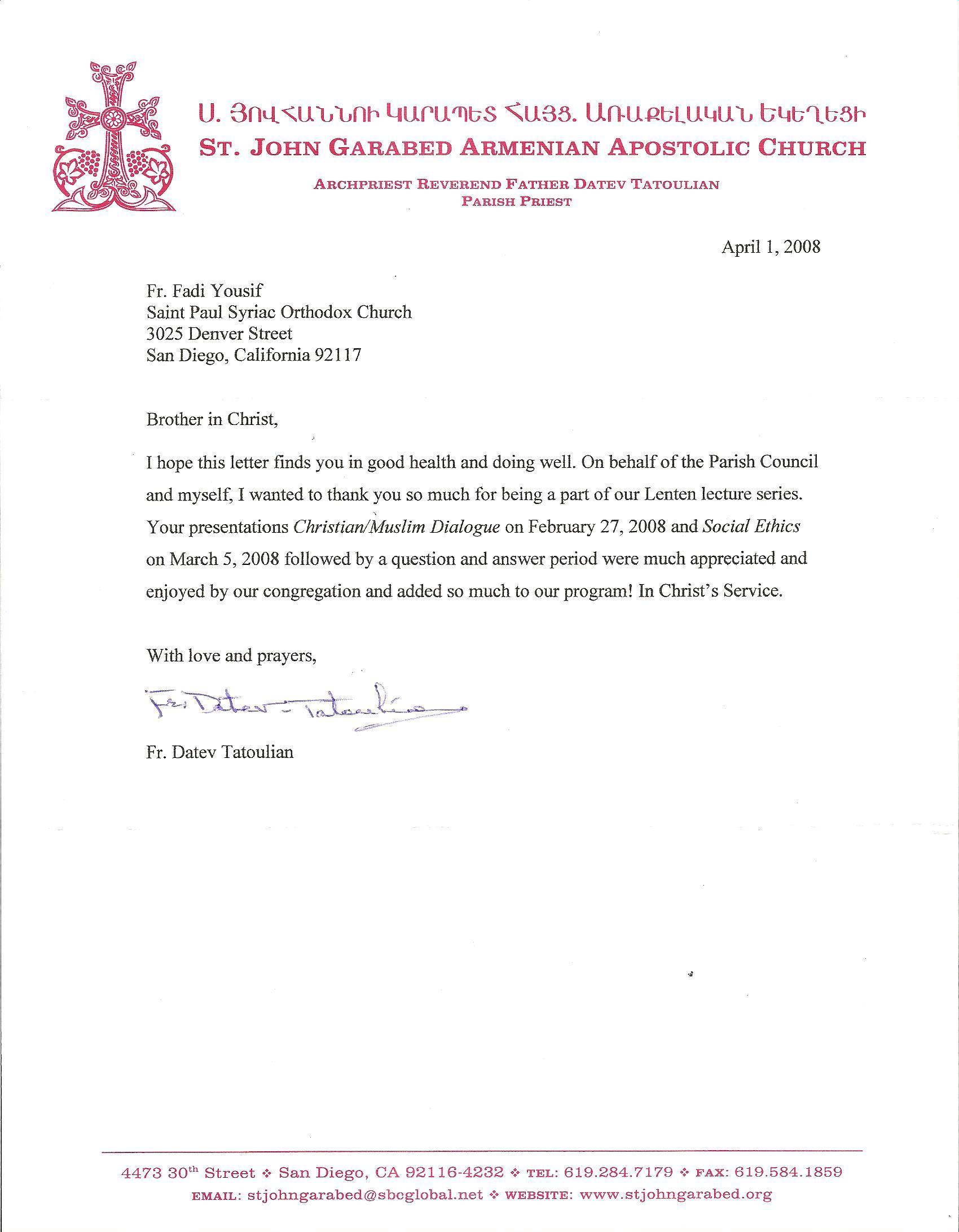 thank you letter salutations sle customer service resume
