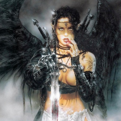 Cool 3d Wallpaper Backgrounds Black Fantasy Sword By Luis Royo