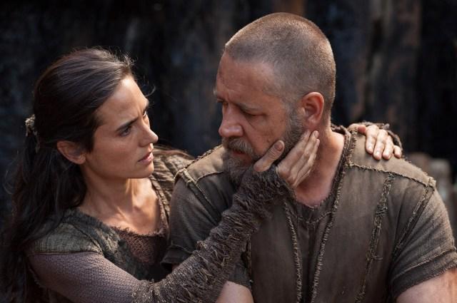 Noah movie Jennifer Connelly Russell Crowe