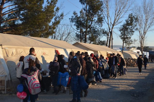 refugees middle east greece