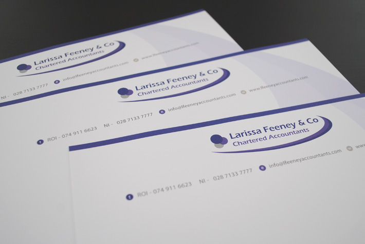 Business stationery design and print