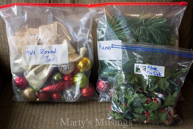 Creative Storage Ideas for Christmas Decorations - how to store christmas decorations