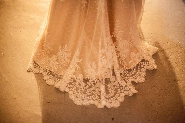 My Sister's August Wedding Handmade Silk and Lace Dress Marusya Anagrassia
