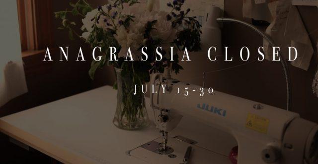 closed anagrassia