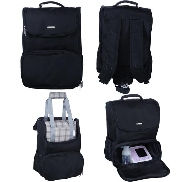 Autumnz - FAME Breastpump Knapsack/Backpack (L)*Black*