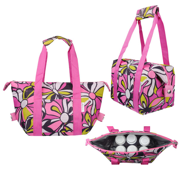 Autumnz - Chic 2-in-1 Convertible Cooler Bag (Peony)