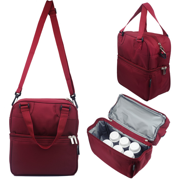 Cooler Bag Posh Burgundy