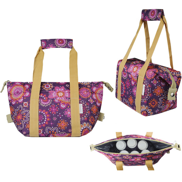 Autumnz - Chic 2-in-1 Convertible Cooler Bag (Summer Fields)