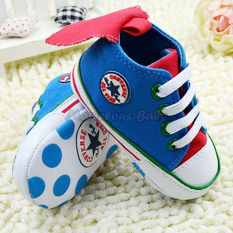 Converse Blue Flying 1