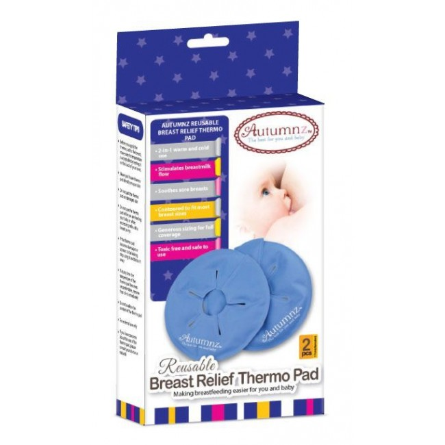 Autumnz - Reusable Breast Relief Thermo Pads BPA free (2 pcs)