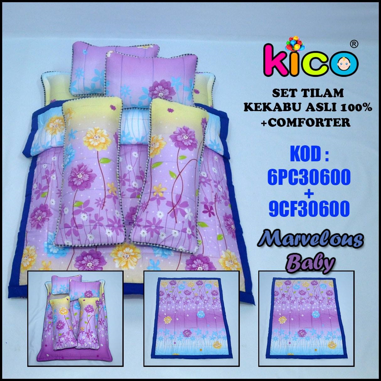 SWEET PURPLE - TILAM KEKABU ASLI 100% (6PC30600 + 9CF30600)
