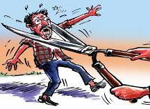 corruption killing people cartoon