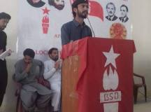 orangzaib baloch chairing the session