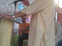 Aftab Speaking at May Day Program