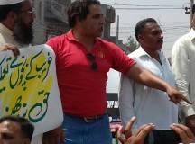 Gulzada Speaking at rally