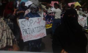 Multan Teachers Protest 08