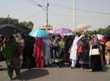 Young Nurses Protest In Lahore 02