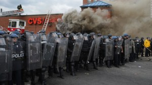 Clash Between Police & Activists in Baltimore Black Lives Matter rally