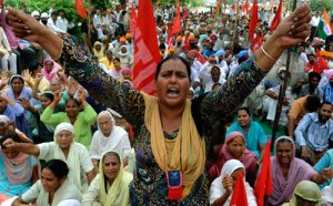 amritsar_india_labor_protest