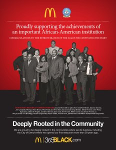 Promoting McDonald's® commitment to the local community
