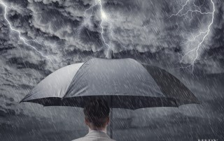 What are your strategies for when a media storm hits?