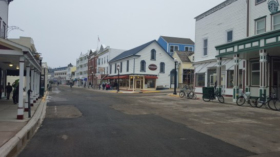 Downtown Mackinac