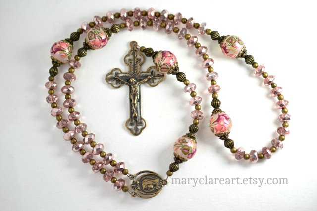 Consider The LIlies Handcrafted Rosary 3