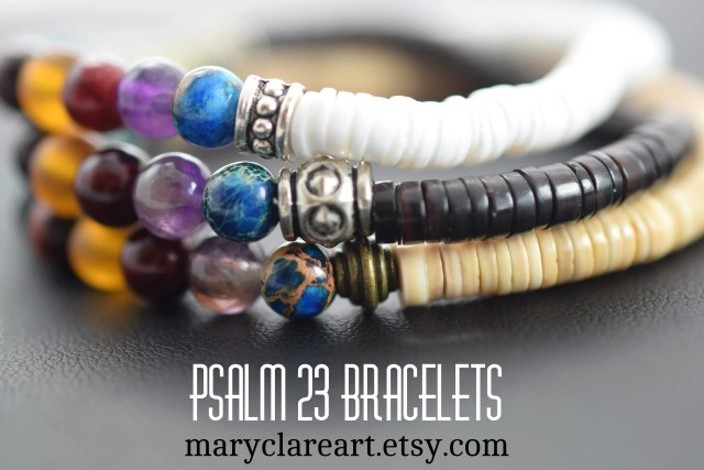 Psalm 23 Bracelet all colors