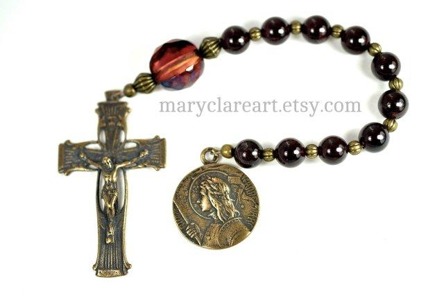Saint Joan of Arc Rosary