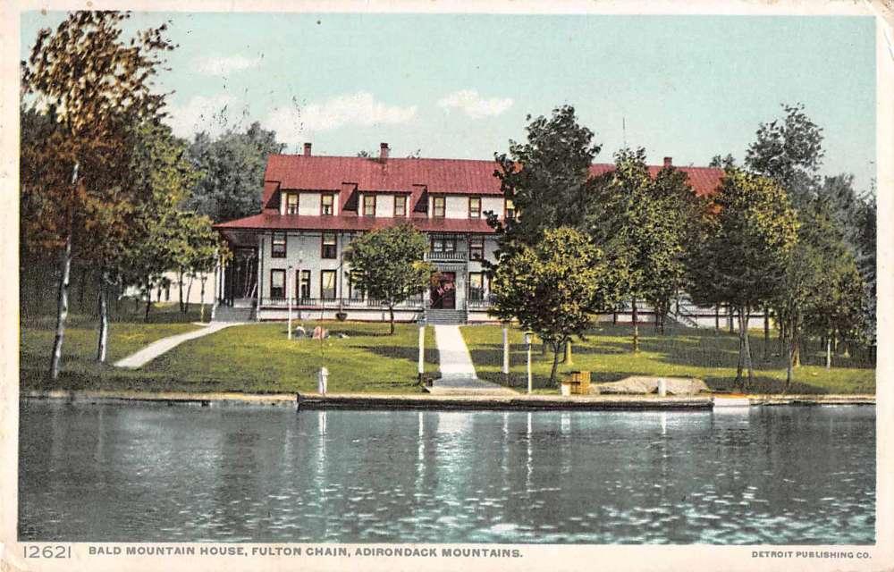 Bald Mountain House New York Adirondack Mountains Fulton Chain
