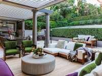 Outdoor Living - Marylou Sobel Interior Design