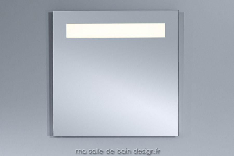 BPure 1 de Deknudt  Miroir salle de bains à LED 70x70cm - Meuble Avec Miroir Pour Salle De Bain